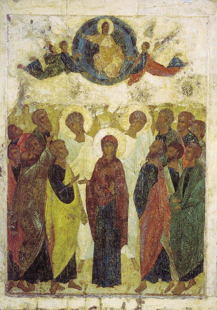 Иконы и фрески андрея рублева